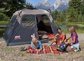Coleman 6-Person Instant Tent & Best Tents For Camping - Large Family Camping Tents - Outdoor ...